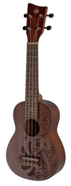 Sopran Ukulele Manoa Kaleo Tattoo KT-SO-NIPPON